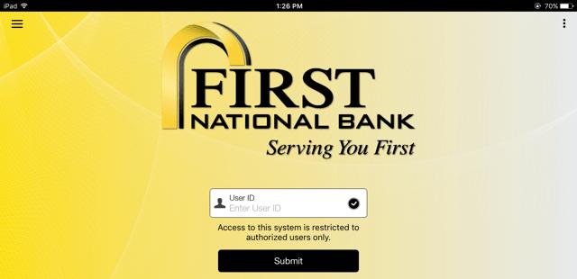 FNB Mobile Deposit Service Updates